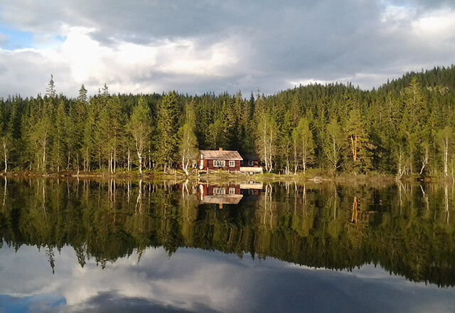 Damhytta i Hurdal