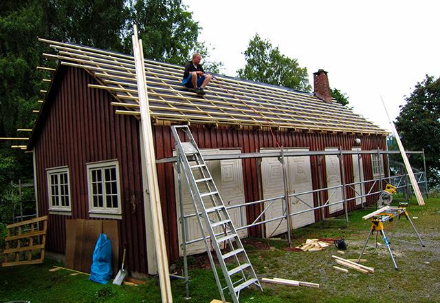 Eiendomsutvikling - renovering av tak